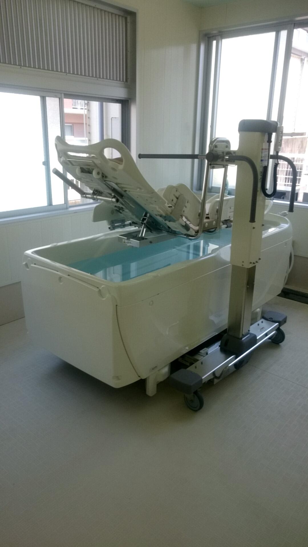 特殊浴槽設置(^o^)